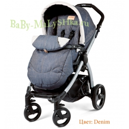 Peg-Perego Book Plus Completo Denim
