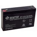 Аккумулятор для электромобилей 6V 7Ah