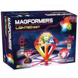 Магнитный конструктор MAGFORMERS Lighted set